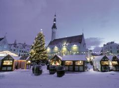 Tallinn in de winter